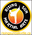 Rising Sun Martial Arts in Oakville, Ontario.