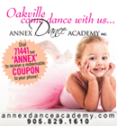 Annex Dance Academy in Oakville and Toronto