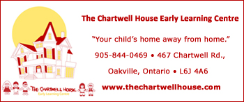 The Chartwell House Early Learning Centre in Oakville
