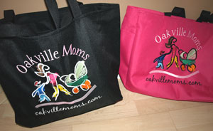 Oakville Moms Tote bags