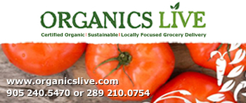 Organics Live Oakville delivers certified organic, sustainably produced, and locally focused food and grocery