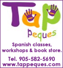 Tap Peques - Spanish classes, Spanish workshops and Spanish book store in Oakville!
